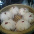 桜風味の蒸しパン