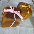 キューブ型でプレゼントパン