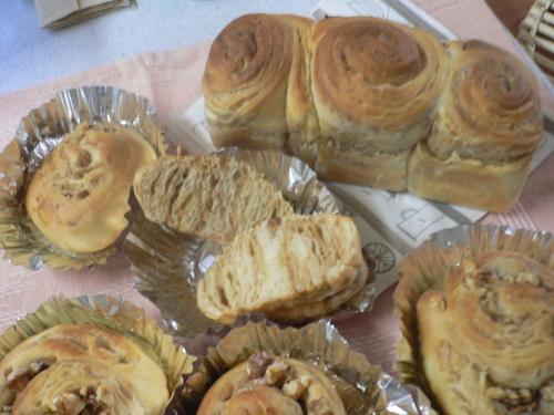 メープルシートのパン