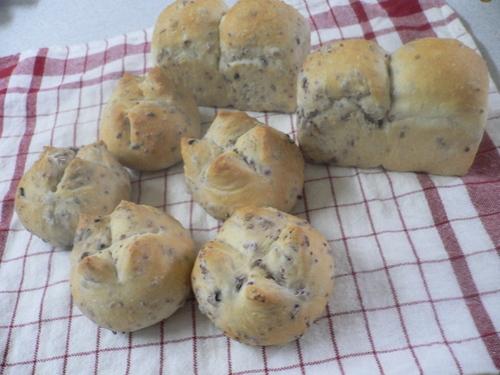 雑穀入りのパン
