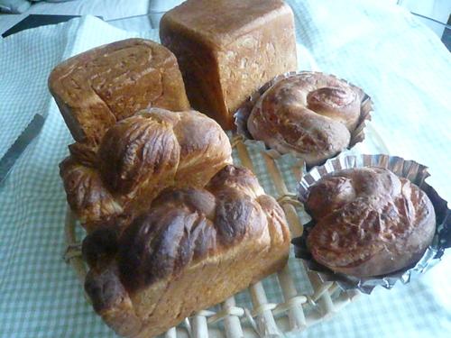 イチゴマーブルのパン